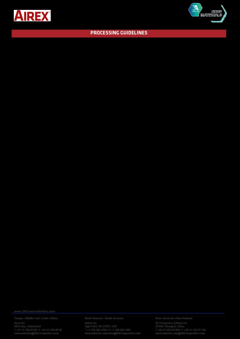 Core Materials - BÜFA